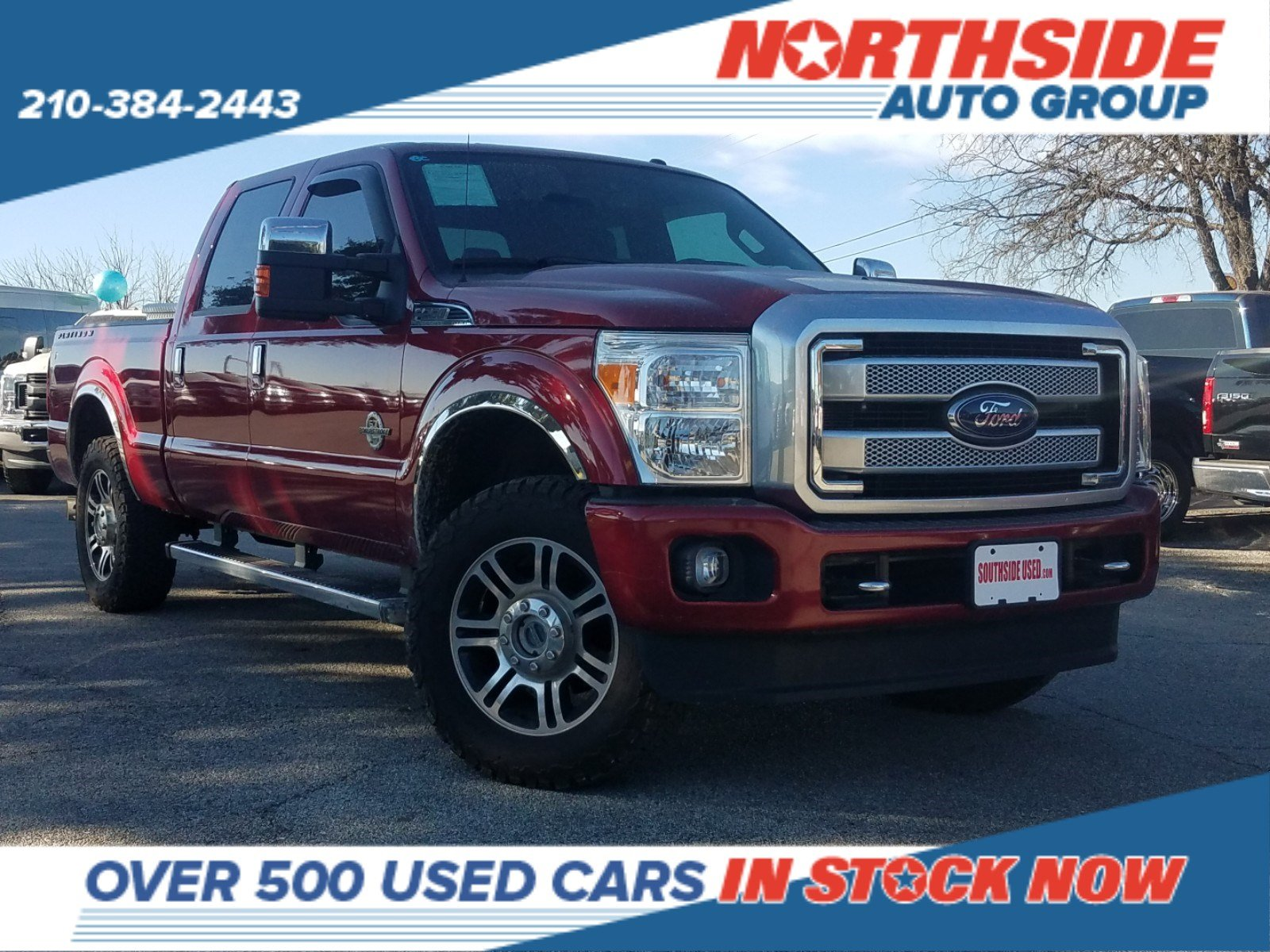 Pre-Owned 2016 Ford Super Duty F-250 SRW Platinum