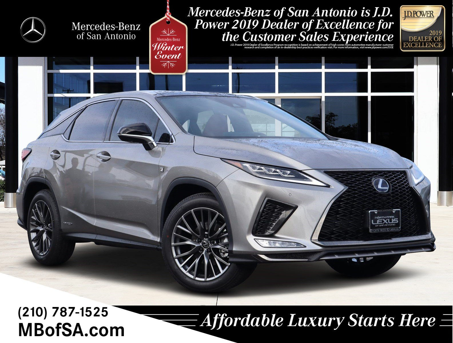 Pre-Owned 2020 Lexus RX RX 450h F SPORT