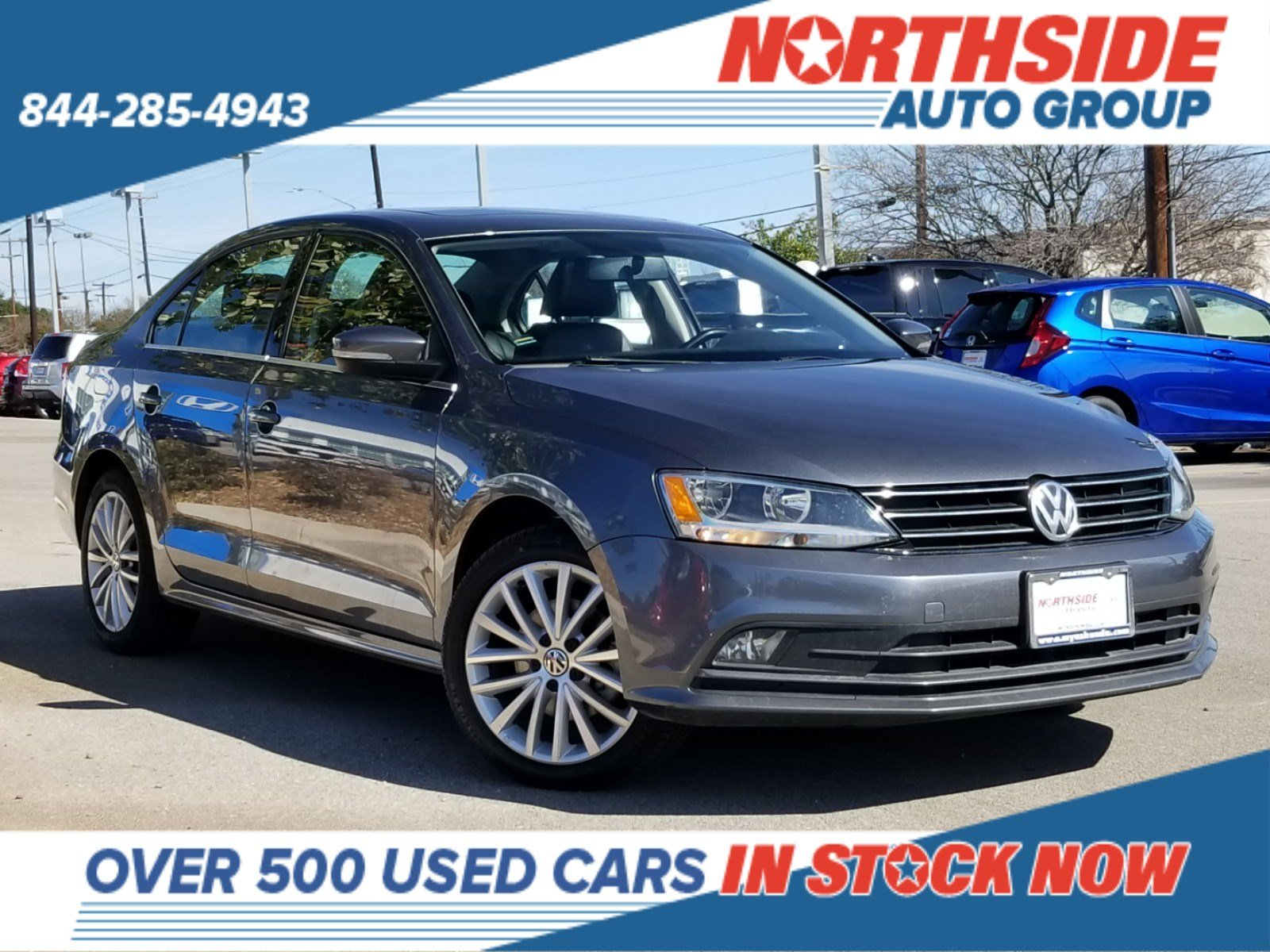Pre-Owned 2015 Volkswagen Jetta Sedan 1.8T SE w/Connectivity/Navigation