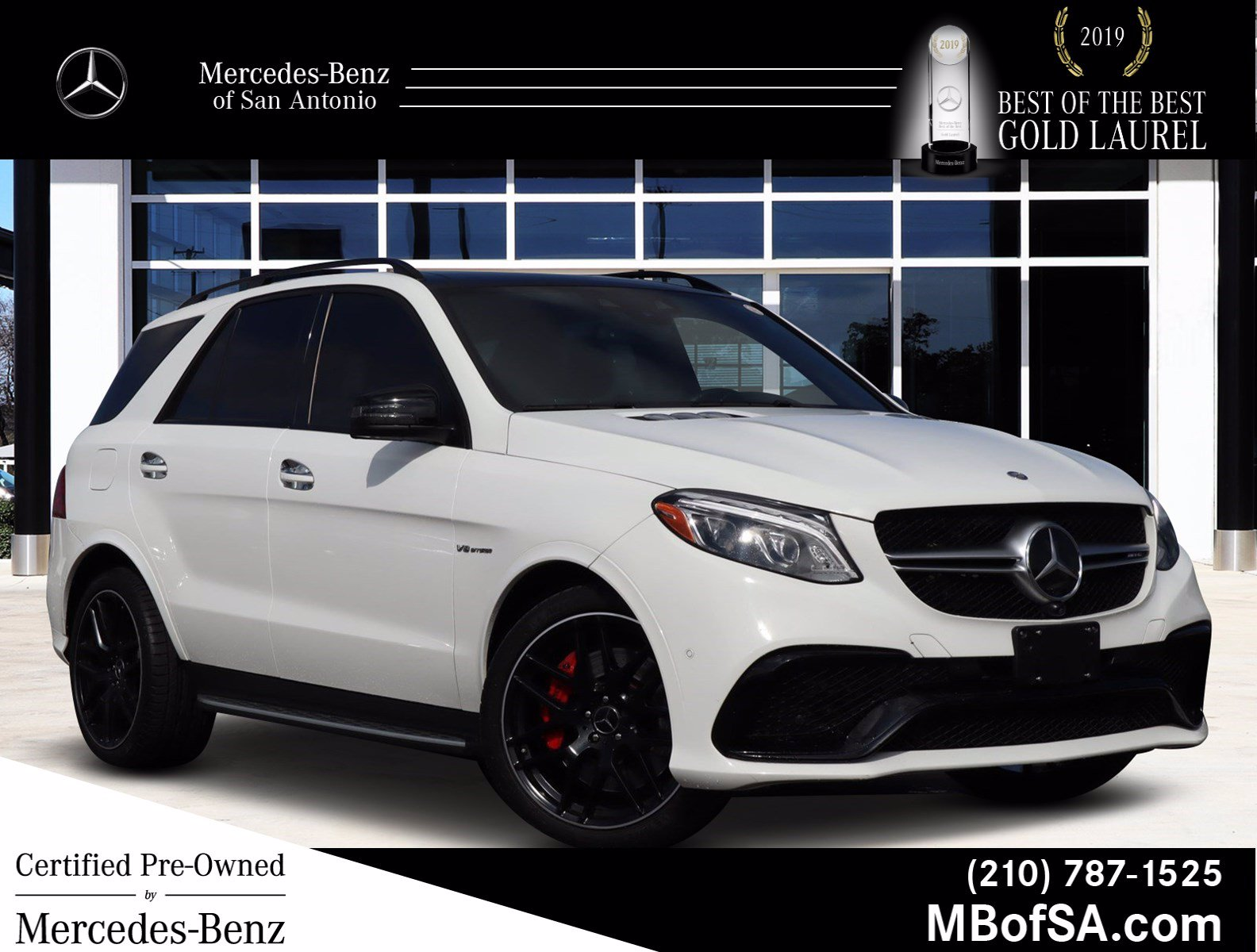 Certified Pre-Owned 2017 Mercedes-Benz GLE AMG® GLE 63 S SUV
