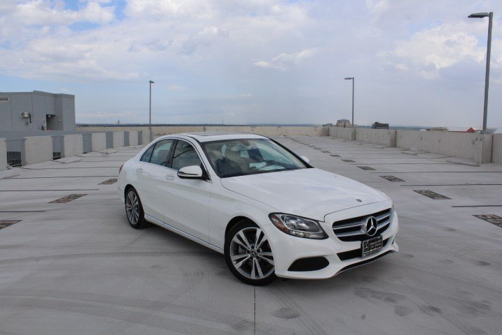 Certified Pre Owned 2018 Mercedes Benz C Class C 300