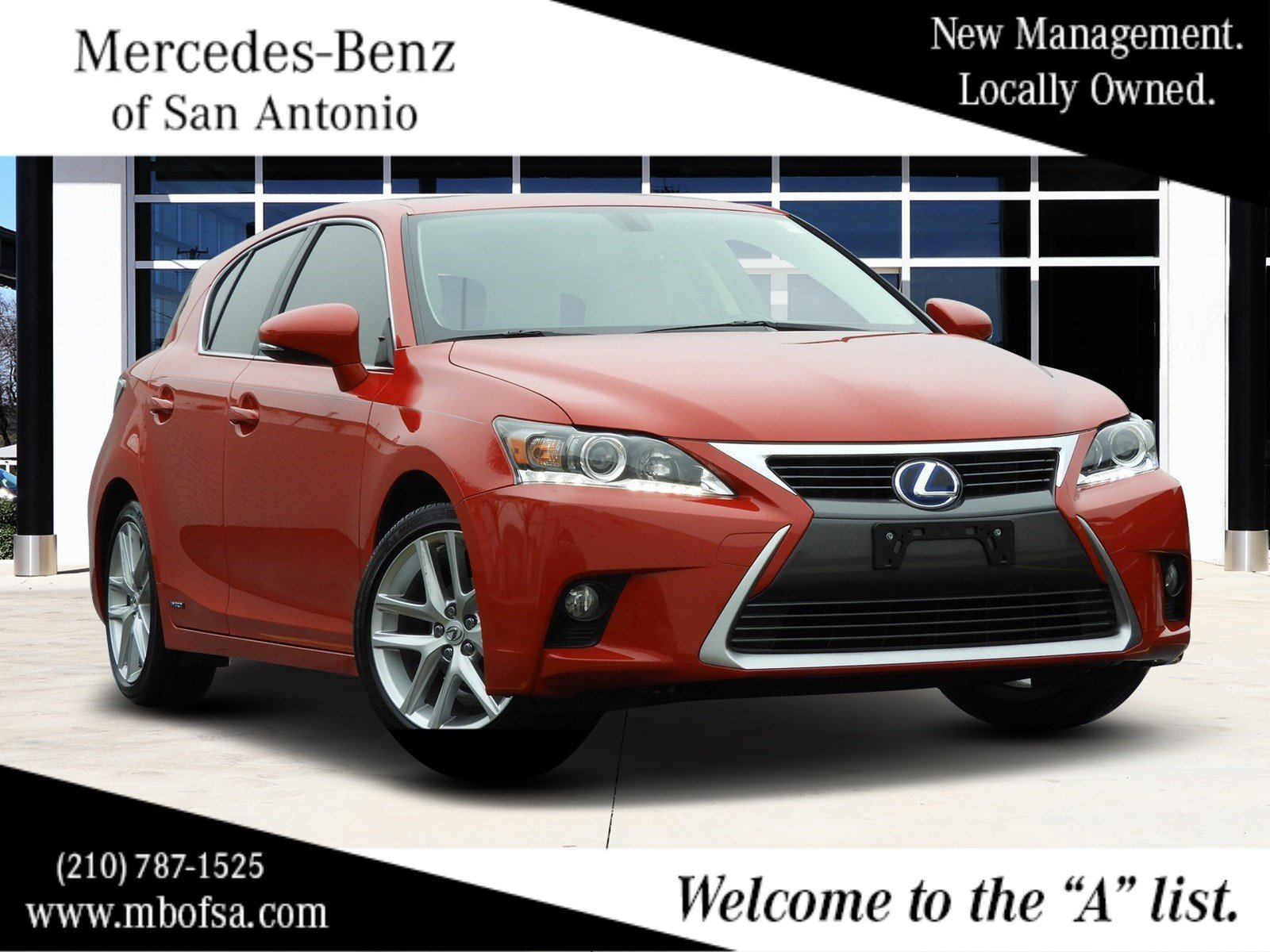 Pre Owned 2017 Lexus Ct 200h Hybrid Hatchback In San Antonio 9598t Mercedes Benz Of