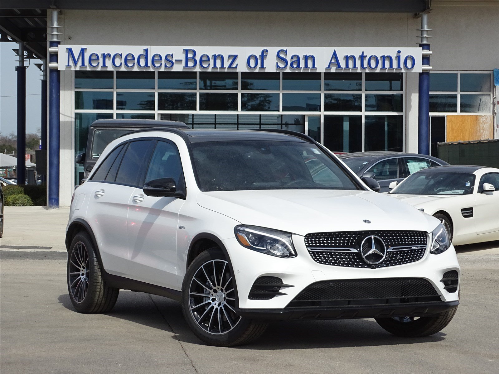 new 2018 mercedes benz glc amg glc 43 suv suv in san