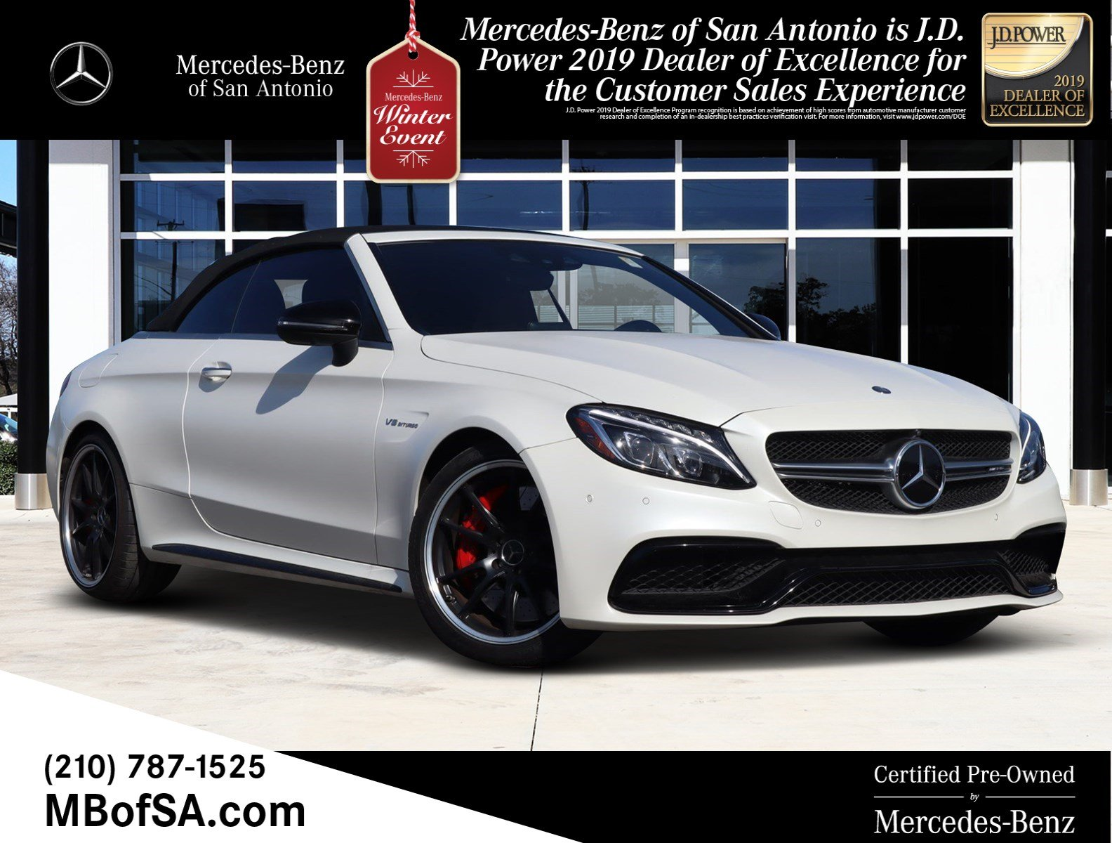 Certified Pre-Owned 2017 Mercedes-Benz C-Class AMG® C 63 S