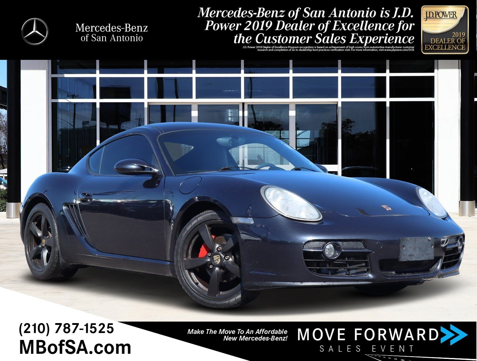 Pre-Owned 2008 Porsche Cayman Base