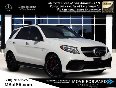 Pre-Owned 2017 Mercedes-Benz GLE AMG® GLE 63 S SUV