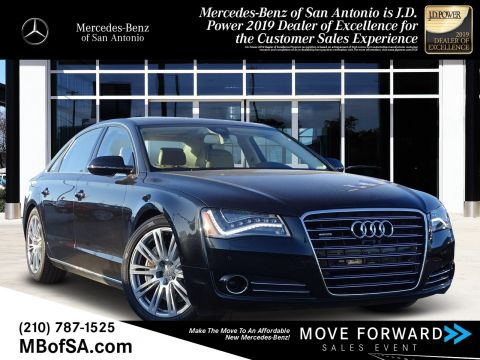 Pre-Owned 2014 Audi A8 L 4.0T