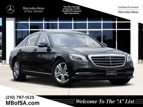 Certified Pre-Owned 2018 Mercedes-Benz S-Class S 450